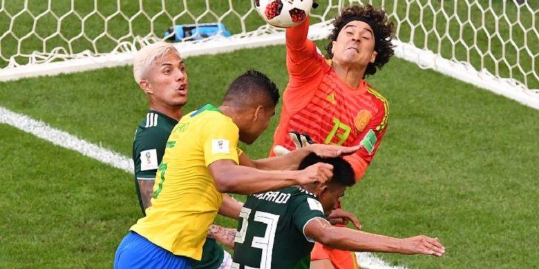 Babak Pertama 16 Besar Piala Dunia, Brasil dan Meksiko Masih Sama Kuat
