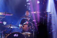 Raffi Ahmad Gantikan Posisi Didi Riyadi sebagai Drummer Element di Love Fest Vol 3