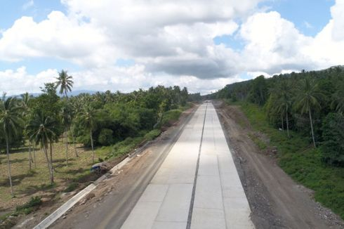 Bakal Operasi 2019, Konstruksi Tol Manado-Bitung Baru 13,21 Persen
