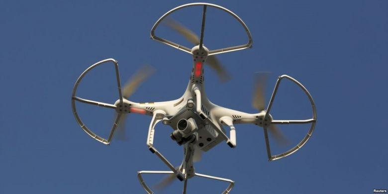 Ilustrasi pesawat tanpa awak atau drone (Foto: Dokumentasi)
