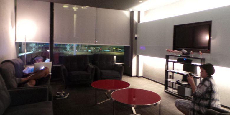 Salah satu sudut AirAsia Premium Red Lounge yang berada di Kuala Lumpur International Airport (KLIA) 2.