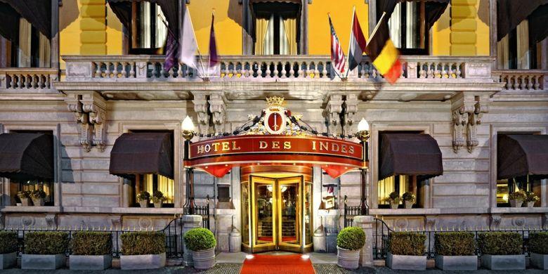 Hotel Des Indes di Den Haag yang menjadi salah lokasi yang kerap didatangi Mata Hari.
