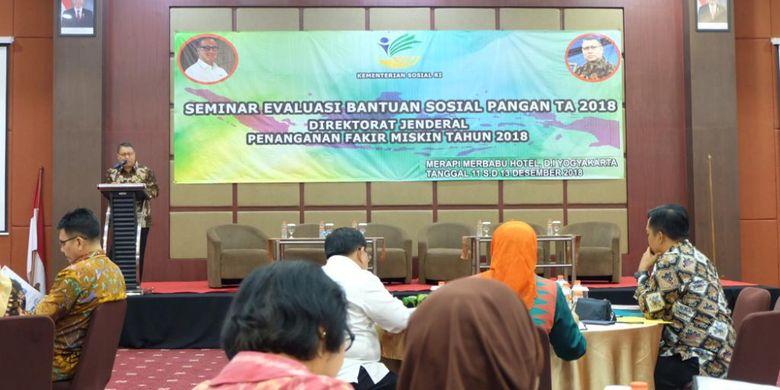 Kerja Sama dengan B2P3KS Yogyakarta, Kemensos Evaluasi Bansos Pangan