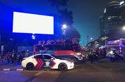 Bubaran Persija vs Mitra Kukar, Jalan Gerbang Pemuda Arah Gatsu Macet