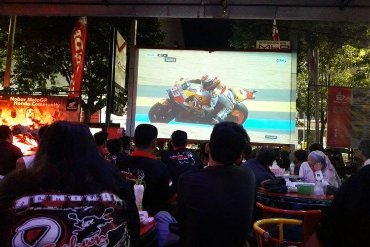 Nobar MotoGP Bareng Komunitas Honda