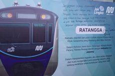 Ratangga, Nama Baru Kereta MRT Jakarta...