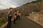 Akses Jalan Ondong-Batubulan Masih Tertutup Lava Gunung Karangetang