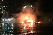 Lima Kapal Patroli Terbakar di Pelabuhan Bitung