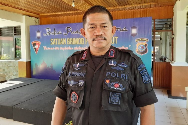 Wadansat Bribom Polda Sulut AKBP M. Ridwan