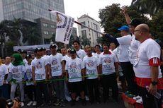 Sosialisasikan Pemilu 2019, KPU DKI Jakarta Ajak Warga Lomba Lari