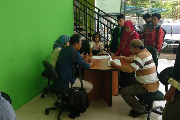 Show Unit hunian DP 0 rupiah, ramai dikunjungi warga, Selasa (23/1/2018)