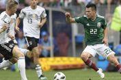 Pencetak Gol Meksiko ke Gawang Jerman Sebut Timnya Main Tanpa Takut