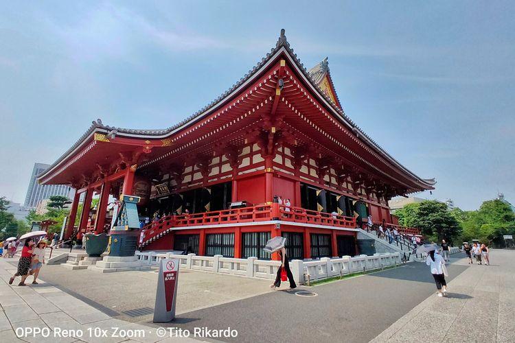 Di Asakusa, masih banyak kuil peninggalan periode Edo, yakni era kepemimpinan para shogun di Jepang selama 265 tahun, dari tahun 1603-1868.