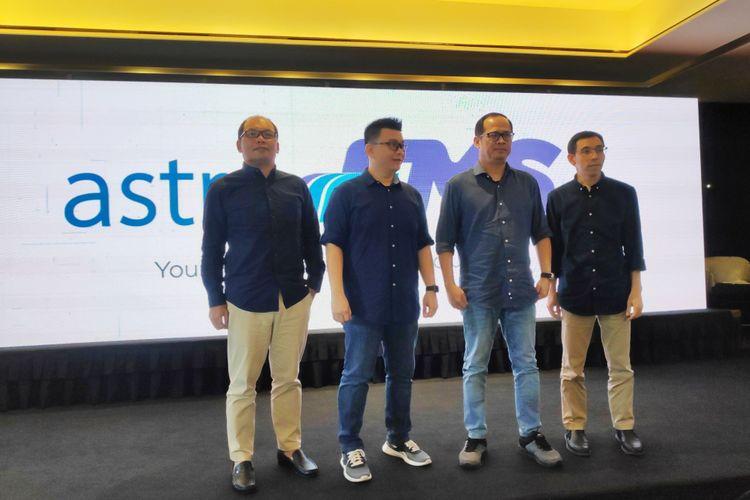 SERA luncurkan layanan pengelolaan Transportasi berbasis trknologi, AstraFMS. Tampak jajaran BOD SERA hadir pada pengenalan teknologi tersebut, Kamis (31/1/2019)