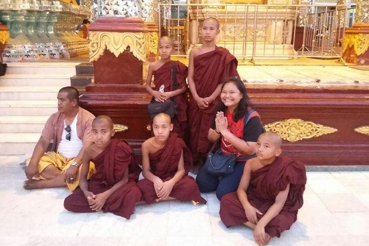Mendapati Kehangatan di Tengah Masyarakat Myanmar