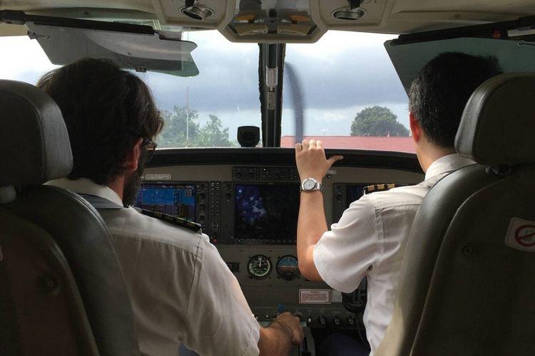Pilot pesawat perintis Manokwari - Teluk Bintuni, Papua Barat.