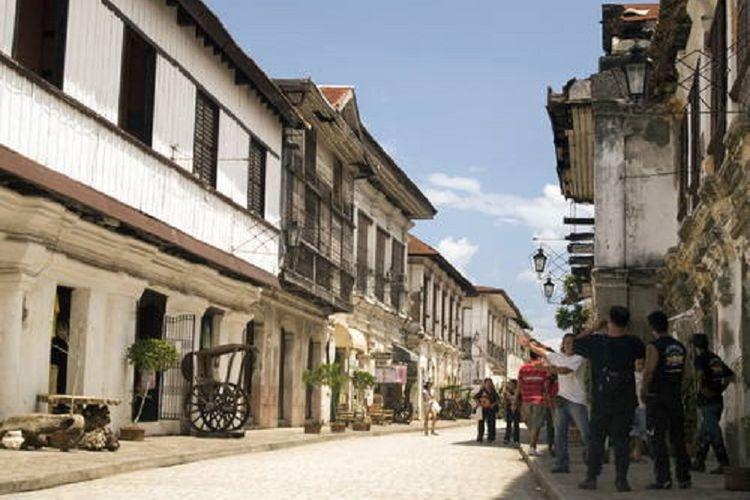 Historic Town of Vigan di Filipina.