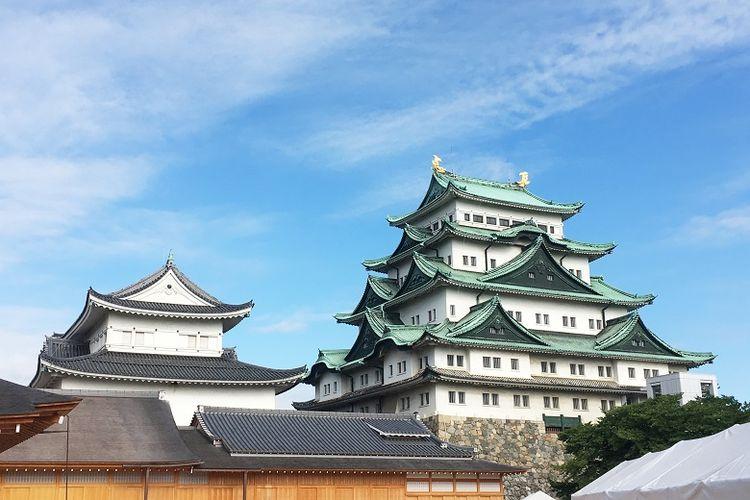 Kastil Nagoya, salah satu simbol prefektur Aichi.