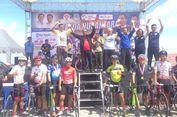 Sepeda Nusantara di Taman God Bless Disesaki Peminat