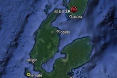 Gempa Bumi Magnitudo 5 Guncang Pulau Morotai
