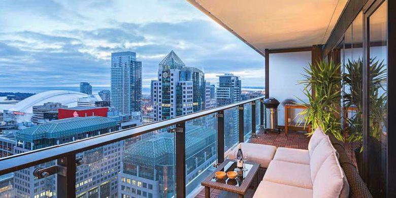 Ilustrasi balkon