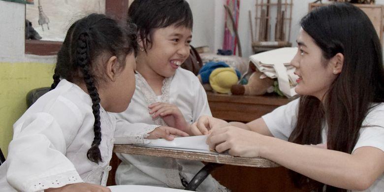 Kunjungan Mahasiswa Korea ke SLB Jawa Barat (7/8/2018)