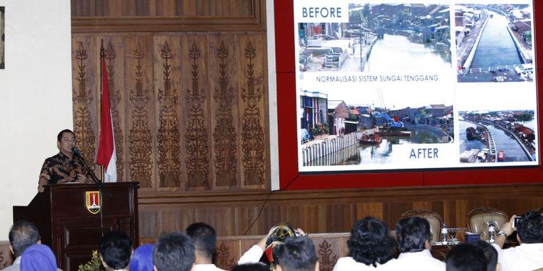 Kota Semarang atasi Banjir dengan Bongkar WC Terpanjang di Dunia