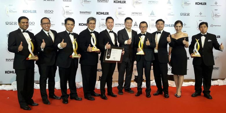Pengembang Indonesia di Asia Property Awards 2018.
