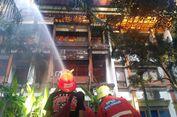 Bangunan di Kantor Gubernur Bali Terbakar