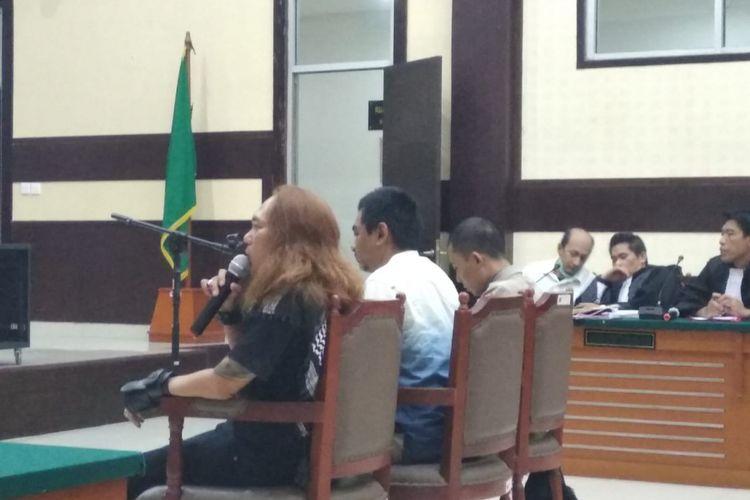 Tiga saksi petugas dari Polda Metro Jaya dihadirkan JPU dalan sidang dokter Helmy, Jakarta Timur (17/5/2018)