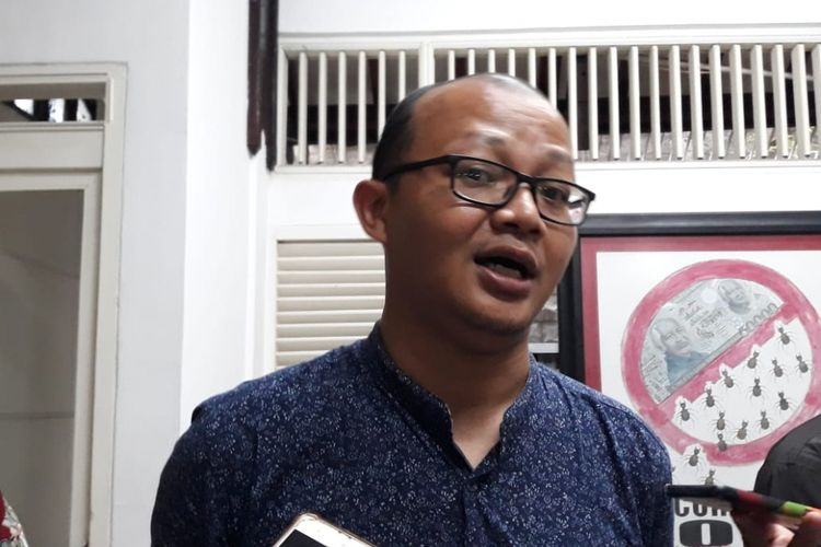 Peneliti Indonesia Corruption Watch (ICW) Emerson Yuntho