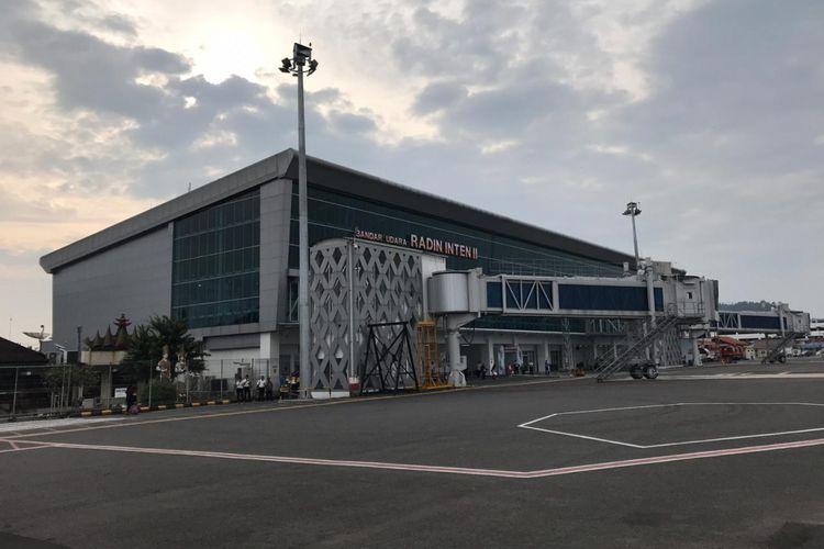 Bandara Radin Inten II Lampung, Kamis (7/3/2019).