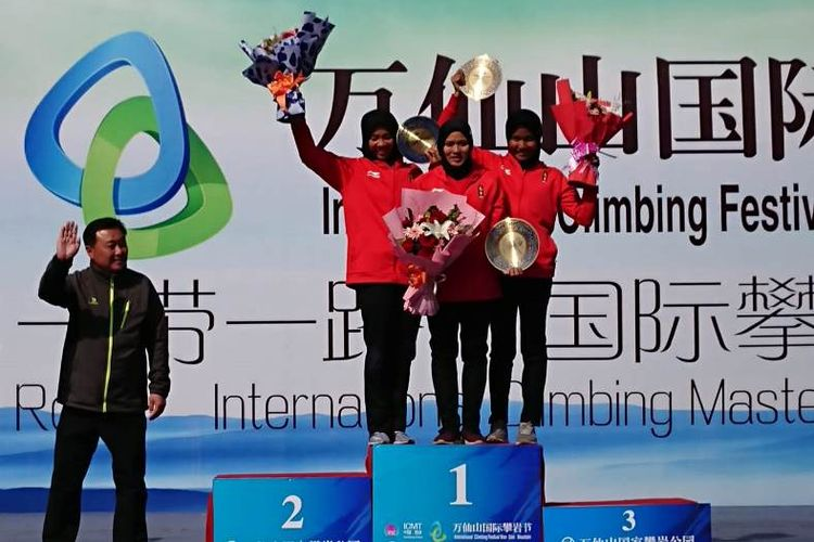 Indonesia  Borong Medali Women's Speed di China