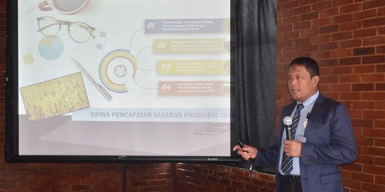 Gatot membeberkan pola Tumpangsari sebagai salah satu usaha Kementan tingkatkan produksi komoditas tanaman pangan utama