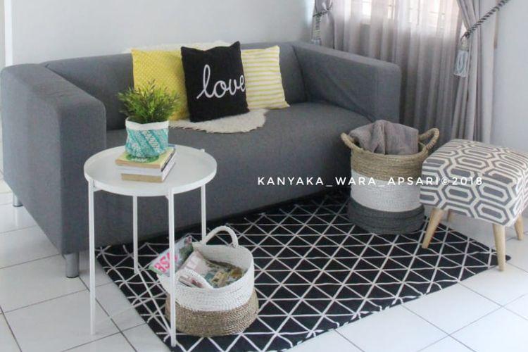 Desain ruang tamu Kanyaka Wara Apsari