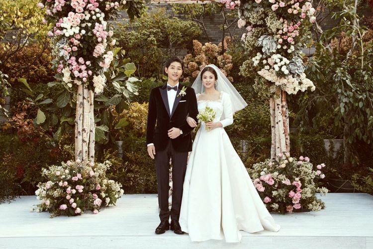Foto resmi pernikahan Song Joong Ki dan Song Hye Kyo