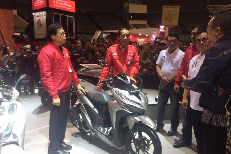 Jokowi Berkunjung ke IMOS 2018