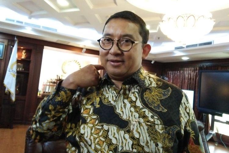 Wakil Ketua DPR dari Fraksi Partai Gerindra Fadli Zon