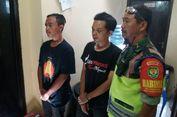 Palak Anggota TNI, Dua Pemuda Mabuk Diamankan