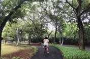 Segarnya Bersepeda di Kawasan Eco Park Ancol