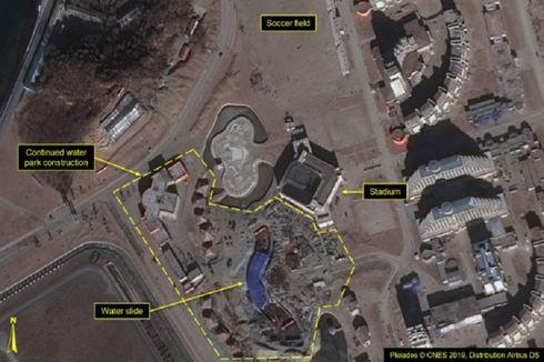 Citra Satelit Ungkap Proyek Resor di Pantai Korea Utara Hampir Rampung