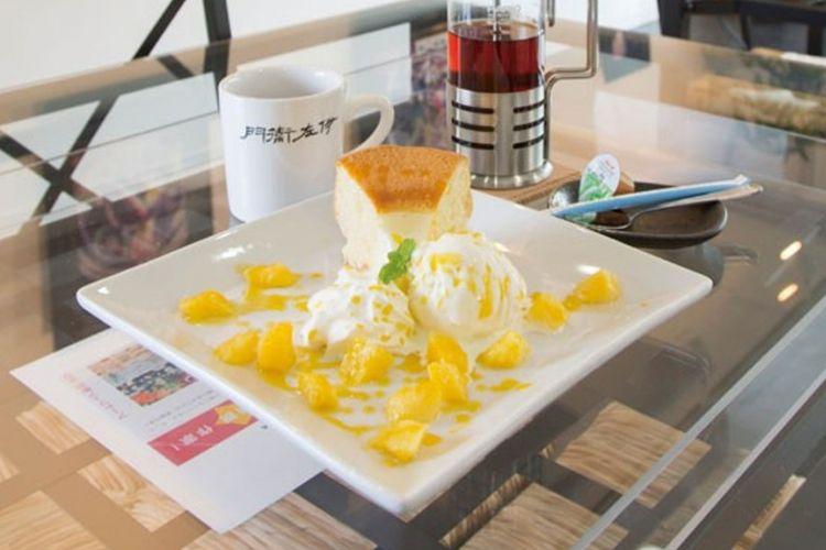 Hidangan di Gallery&Café Izaemon