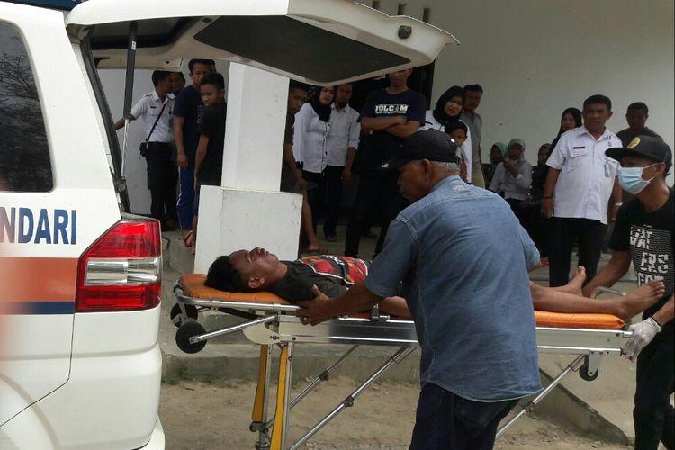 Salah satu korban konsumsi penyalahgunaan obat masih berdatangan di RSJ Kendari.(KOMPAS.COM/KIKI ANDI PATI)
