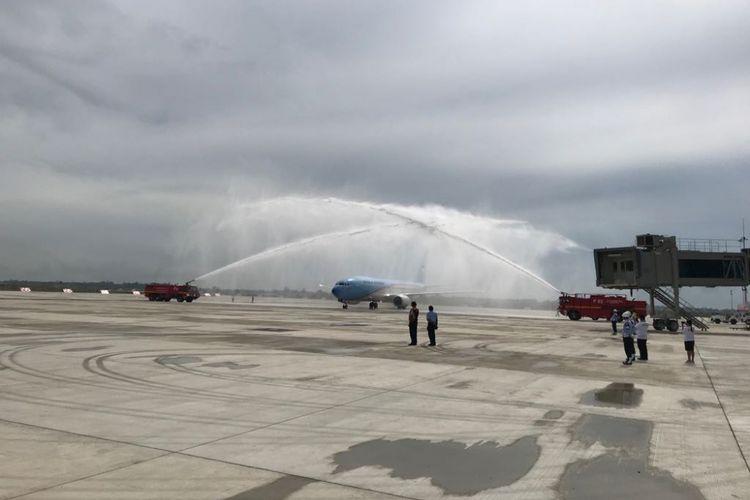 Suasana Bandara Kertajati, Majalengka, Jawa Barat, Kamis (24/5/2018).