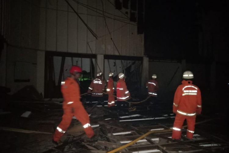 Gedung Auditorium PPOP Ragunan Terbakar, Selasa (21/5/2109)