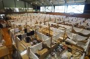 Nyamannya Tempat Penampungan Korban Banjir di Jepang
