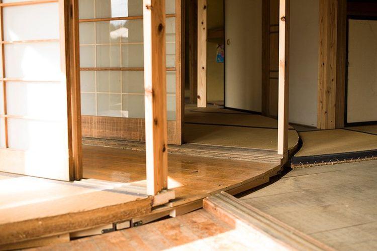 Rumah unik Mochida Atsuko yang dapat diputar 360 derajat.