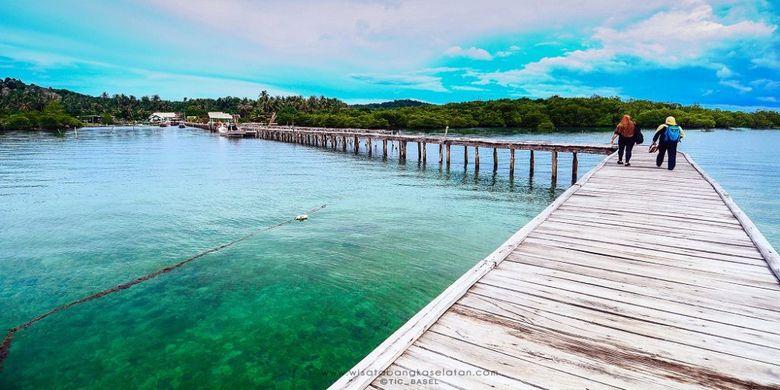 Pantai Lampu, Pangkalpinang