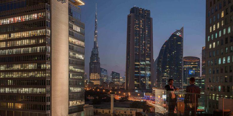 6 Rooftop Unik Bisa Dikunjungi di Dubai