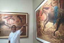 Melihat Pameran 'Nenek Moyangnya' Seni Rupa di Borobudur...